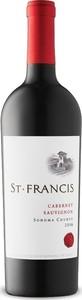 St. Francis Cabernet Sauvignon 2016, Sonoma County Bottle