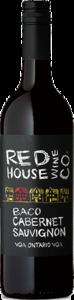 Red House Wine Co Baco Cabernet Sauvignon 2017, VQA Ontario Bottle
