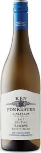 Ken Forrester Old Vine Reserve Chenin Blanc 2017, Wo Stellenbosch Bottle