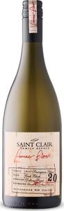 Saint Clair Pioneer Block 20 Cash Block Sauvignon Blanc 2017, Single Vineyard, Wairau Valley, Marlborough, South Island Bottle