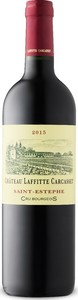 Château Laffitte Carcasset 2015, Ac St éstephe Bottle