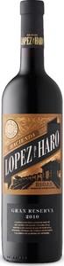 Hacienda López De Haro Gran Reserva 2010, Doca Rioja Bottle
