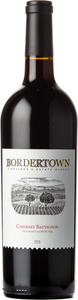 Bordertown Cabernet Sauvignon 2016, Okanagan Valley Bottle