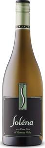 Soléna Cellars Pinot Gris 2017, Willamette Valley Bottle