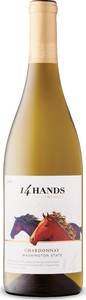 14 Hands Chardonnay 2016, Washington State Bottle