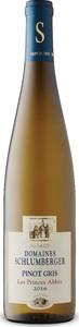 Domaines Schlumberger Les Princes Abbés Pinot Gris 2016, Ac Alsace Bottle
