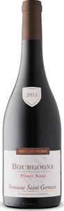 Saint Germain Vieilles Vignes Pinot Noir 2015, Ac Bourgogne Bottle