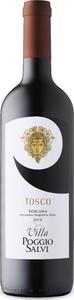 Villa Poggio Salvi Tosco 2016, Igt Toscana Rosso Bottle