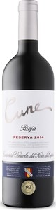 Cune Reserva 2014, Doc Rioja Bottle