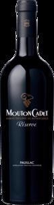 Mouton Cadet Reserve Pauillac 2016 Bottle
