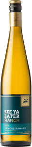 See Ya Later Ranch Gewurztraminer 2018, Okanagan Valley Bottle
