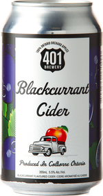 The 401 Cider Blackcurrant (375ml) Bottle