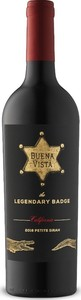 Buena Vista The Legendary Badge Petite Sirah 2017, California Bottle