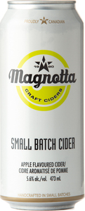 Magnotta Small Batch Cider Apple (473ml) Bottle