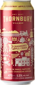 Thornbury Cranberry Apple Cider (500ml) Bottle