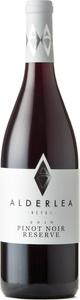Alderlea Pinot Noir Reserve 2016, Vancouver Island Bottle