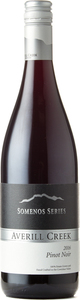 Averill Creek Somenos Series Pinot Noir 2016, Vancouver Island Bottle