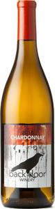 Back Door Winery Chardonnay 2018, Okanagan Valley Bottle