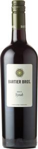 Bartier Bros. Syrah Cerqueira Vineyard 2017, Okanagan Valley Bottle