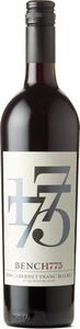 Bench 1775 Cabernet Franc Malbec 2016, Okanagan Valley Bottle