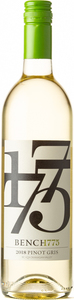 Bench 1775 Pinot Gris 2018, Okanagan Valley Bottle