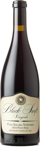 Black Swift Palo Solara Vineyard Pinot Noir 2016, Okanagan Valley Bottle