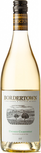 Bordertown Unoaked Chardonnay 2018, Okanagan Valley Bottle