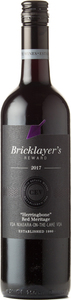 Bricklayer's Reward Herringbone Red Meritage 2017 Bottle