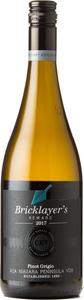 Bricklayer's Reward Pinot Grigio 2017 Bottle