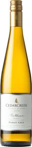 CedarCreek Platinum Block 7 Pinot Gris 2018, Okanagan Valley Bottle
