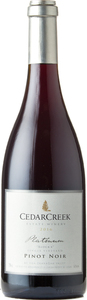 CedarCreek Platinum Block 4 Pinot Noir 2016, Okanagan Valley Bottle