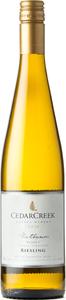 CedarCreek Platinum Riesling Block 3 2018, Okanagan Valley Bottle