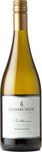 CedarCreek Platinum Viognier 2018, BC VQA Okanagan Valley Bottle