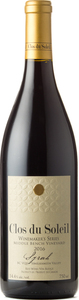 Clos Du Soleil Syrah Middle Bench Vineyard 2016, Similkameen Valley Bottle