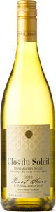 Clos Du Soleil Winemaker's Series Pinot Blanc Middle Bench Vineyard 2018, Similkameen Valley Bottle