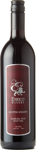 Enrico Winery Jousting Knights Marechal Foch Pinot Noir, Vancouver Island Bottle