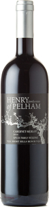 Henry Of Pelham Cabernet Merlot Speck Family Reserve 2016, Short Hills Bench Bottle