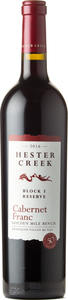 Hester Creek Cabernet Franc Reserve Block 3 2016, Okanagan Valley Bottle