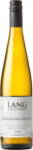Lang   Farm Reserve Riesling 2018 Bottle