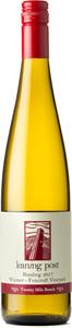 Leaning Post Riesling Wismer Foxcroft Vineyard 2017, Twenty Mile Bench Bottle