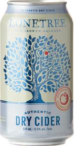 Lonetree Cider Authentic Dry Apple Cider, Okanagan Valley (355ml) Bottle