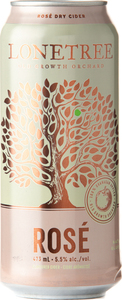 Lonetree Rosé Dry Cider, Okanagan Valley (500ml) Bottle