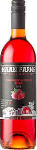 Maan Farms Estate Winery Strawberry Raspberry Blend 2018, Fraser Valley Bottle