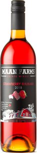 Maan Farms Strawberry Rhubarb 2018, Fraser Valley Bottle