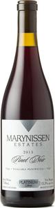 Marynissen Platinum Series Pinot Noir 2015, Niagara Peninsula Bottle