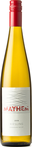 Mayhem Wines Riesling 2018, Okanagan Valley Bottle