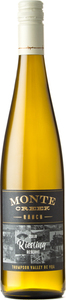 Monte Creek Ranch Riesling Reserve 2018 Bottle