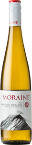 Moraine Riesling Reserve 2018, Okanagan Valley Bottle