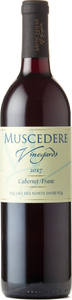 Muscedere Vineyards Cabernet Franc 2017, Lake Erie North Shore Bottle