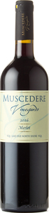 Muscedere Vineyards Merlot 2016, Lake Erie North Shore Bottle